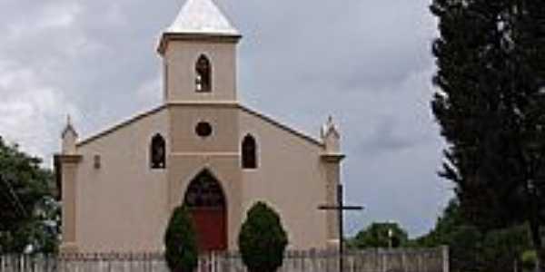 Mandaçaia-PR-Igreja de Santo Antônio-Foto:Cezar Mario Rech