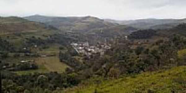 Vista da cidade de Manfrinópolis-Foto:ROBISON HEIMANN