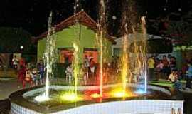 Ibipitanga - Fonte em Ibipitanga de Noite.
