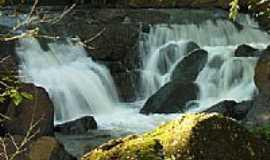 Marechal Cândido Rondon - Cachoeira Quatro Pontes em Marechal Cândido Rondon-Foto:Erico Christmann