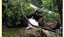 Ibirajá - Cachoeira dos Catabrigas em Ibirajá-BA-Foto:Marcos A. Barbosa