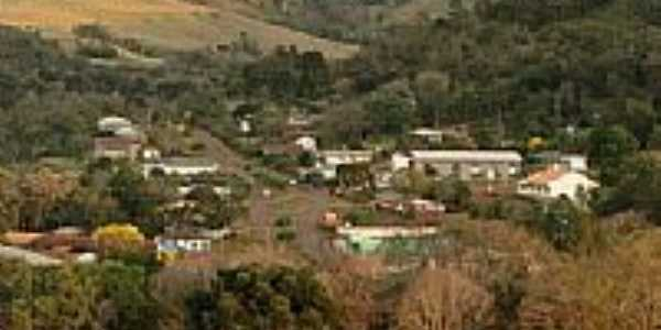 Vista da cidade de Mato Rico-PR-Foto:Dimas