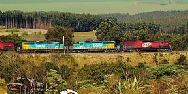 Trem em Mauá da Serra - por daniel.batera.rr