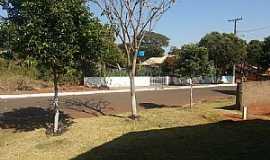 Mendeslândia - Mendeslândia-PR-Pracinha em rua da cidade-Foto:mmoraes