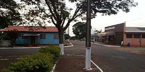 Mendeslândia-PR-Centro da cidade-Foto:mmoraes