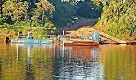 Mirador - Mirador-PR-Vista da balsa no Rio Ivaí-Foto:Rossi...