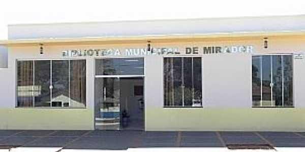 Mirador-PR-Biblioteca Pública Municipal-Foto:AndreKamitani