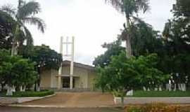 Moreira Sales - Igreja Católica em Moreira Sales-Foto:Rogerio Mussi