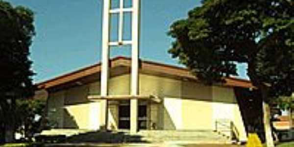 Paróquia  São João Batista em Moreira Sales-PR-Foto:Nilson Reis Gonçalves