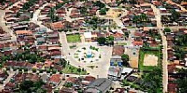 Vista aérea de Ibirapitanga-BA-Foto:Beto Santana