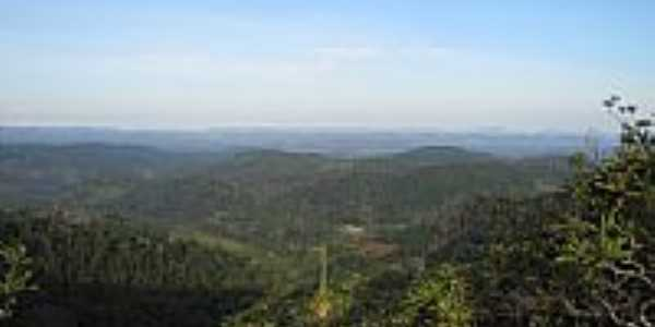 Vista do alto da Serra Pelada em Ibirapitanga-BA-Foto:Beto Santana