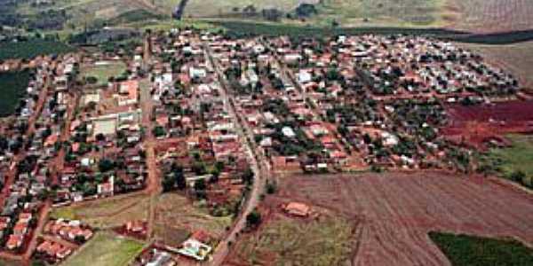 Nova América da Colina-PR-Vista aérea-Foto:paranaturismo.com.br