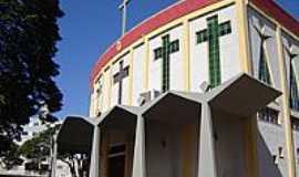 Nova Esperança - Matriz do Sagrado Coração de Jesus-Foto:Vicente A. Queiroz