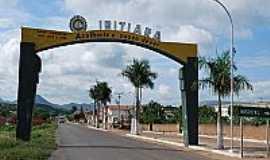 Ibitiara - Portal de entrada de Ibitiara-BA-Foto:joseivo.