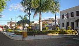 Ibitiara - Praça em Ibitiara-BA-Foto:Wikipédia