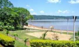 Nova Prata do Igua�u - praia artificial, Por alexandre