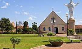 Nova Santa B�rbara - Igreja Matriz-Foto:Acir Mandello