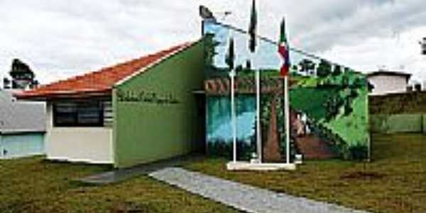 Biblioteca em Nova Tebas-Foto:Emerson sevilha