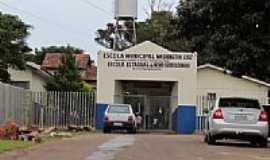 Novo Sobradinho - Escola Municipal em Novo Sobradinho-Foto:Ricardo Mercadante