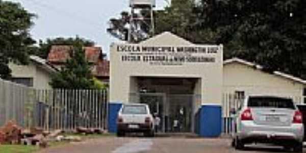 Escola Municipal em Novo Sobradinho-Foto:Ricardo Mercadante