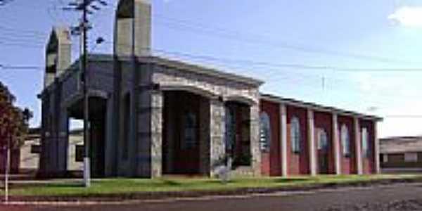 Igreja de Novo Sobradinho-Foto:Artemio C.Karpinski