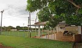Novo Três Passos - Campo de futebol no Distrito de Novo Três Passos-Foto:Ricardo Mercadante