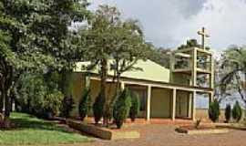 Novo Três Passos - Igreja na Associação Atlética Avante no Distrito de Novo Três Passos-Foto:Ricardo Mercadante