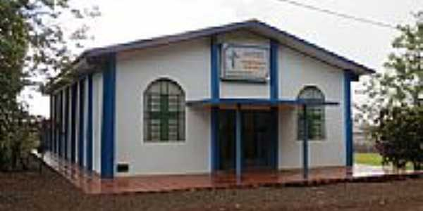 Igreja Evangélica no Distrito de Novo Três Passos-Foto:Ricardo Mercadante