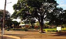 Ourizona - Praça da Rodoviária-Foto:Odaire Reis