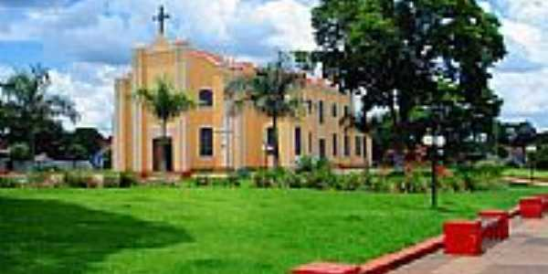Igreja Matriz-Foto:Odaire Reis