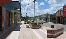 Capela - Calçadão no centro de Capela-Foto:Carlos André