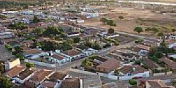 Vista aérea da cidade de Ibititá-BA-Foto:newtoncd