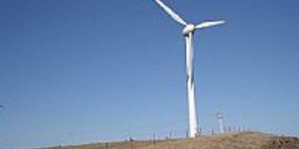Fonte de Energia Eólica em Palmas-PR-Foto:pres_fhe
