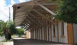 Palmeira - Pátio da antiga Estação Ferroviária de Palmeira-PR-Foto:JucaLodetti