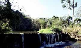 Palmital - Palmital-PR-Barragem no Rio Jaguatirica-Foto:Loivinho França