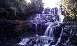 Palmital - Palmital-PR-Cachoeira da Jaguatirica-Foto:Loivinho França