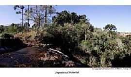 Palmital - Palmital-PR-Topo da Cachoeira da Jaguatirica-Foto:Loivinho França
