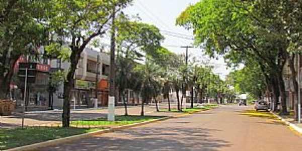 Palotina-PR-Avenida Independência-Foto:Ricardo Mercadante