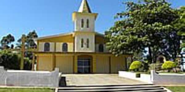 Paróquia  São Pedro no Distrito de Paraná d´Oeste-Foto:Nilson Reis Gonçalves