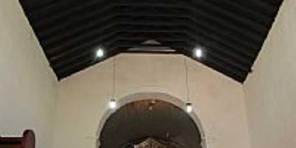 Interior da Igreja de São Benedito em Paranaguá-PR-Foto:André Bonacin
