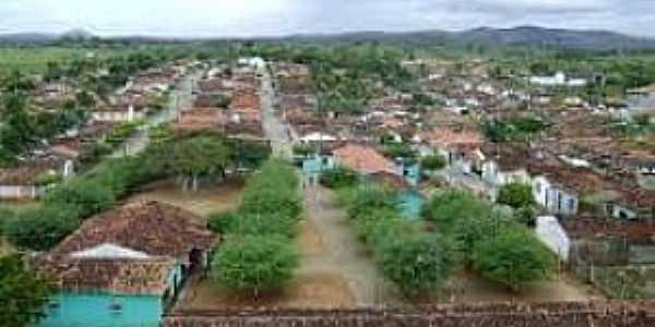 Ibitupã-BA-Vista da cidade-Foto:painhoadj.blogspot.com