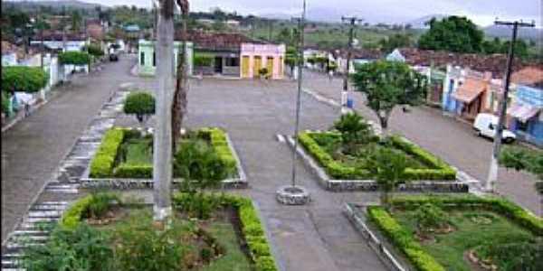 Ibitup�-BA-Vista do centro da cidade-Foto:Ibitupa-Bahia