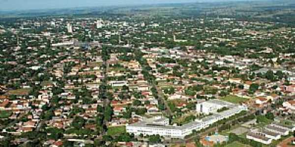 Paranavaí-PR-Vista aérea da cidade-Foto:enrikegf