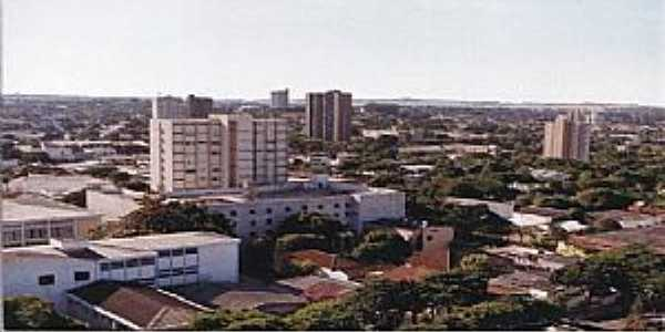 Paranavaí-PR-Vista do centro da cidade-Foto:jmbruning