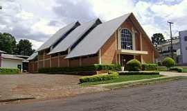 Pato Branco - Pato Branco-PR-Igreja no Bairro Primavera-Foto:Artemio Clides Karpinski