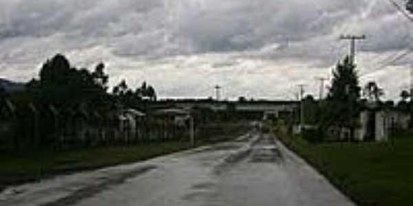 Chegando em Paula Freitas-Foto:Artemio C.Karpinski