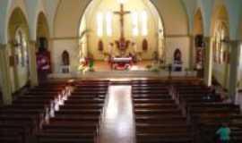 Peabiru - Igreja Matriz vista interna, Por Edson