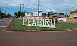 Peabiru - Entrada da cidade-Foto:SBA.OLIVEIRA