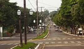 Perobal - Avenida central de Perobal-Foto:PAULO ROBERTO RUBIO