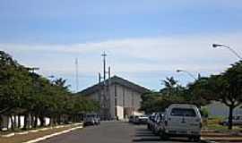 P�rola - Pra�a e Igreja Matriz-Foto:Udson Pinho